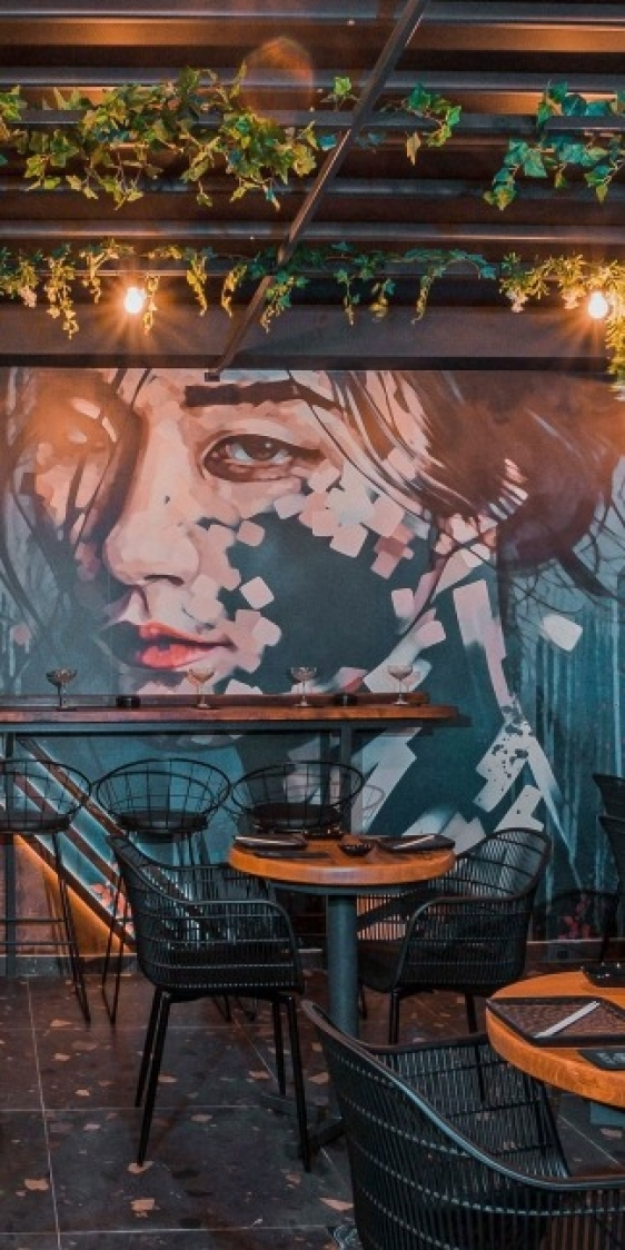 Homu Sushi Bar Interior Design