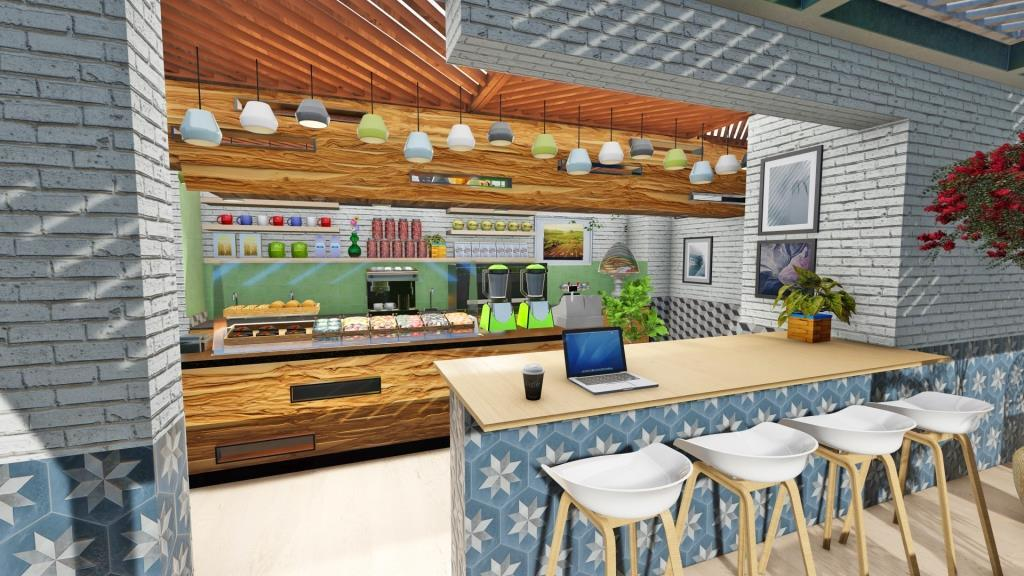 Cafe Jardin Interior Design - 2