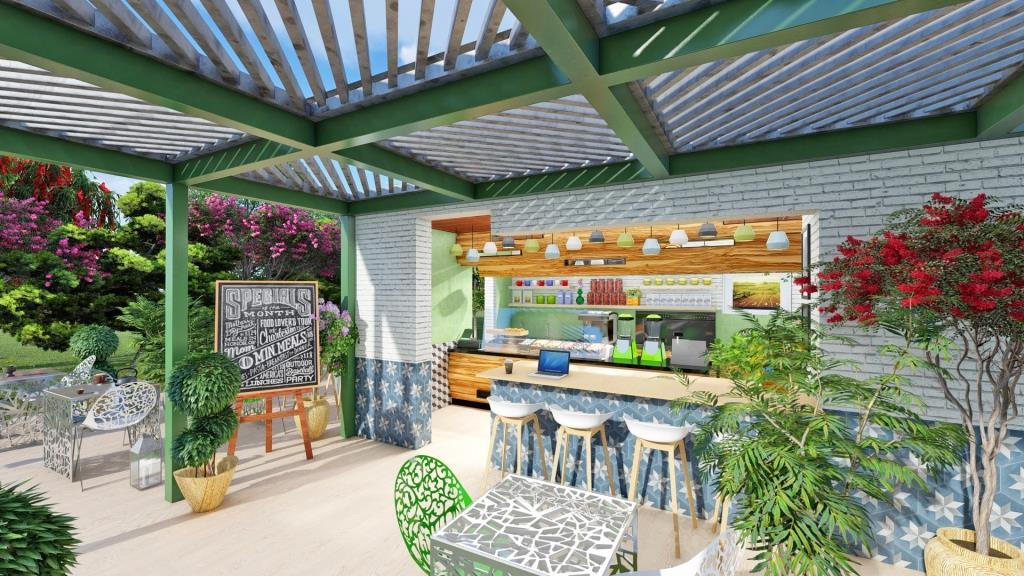 Cafe Jardin Interior Design - 7