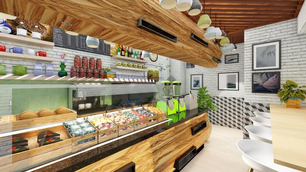 Cafe Jardin Interior Design - 4