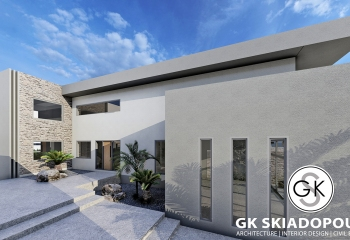 9 Sea-Front Viilas for Sale In Rhodes Architecture