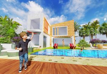 Symmetric Villas Architecture