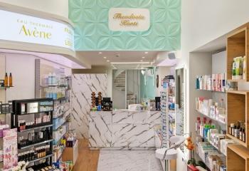Theodosia Kanti Pharmacy Interior Design