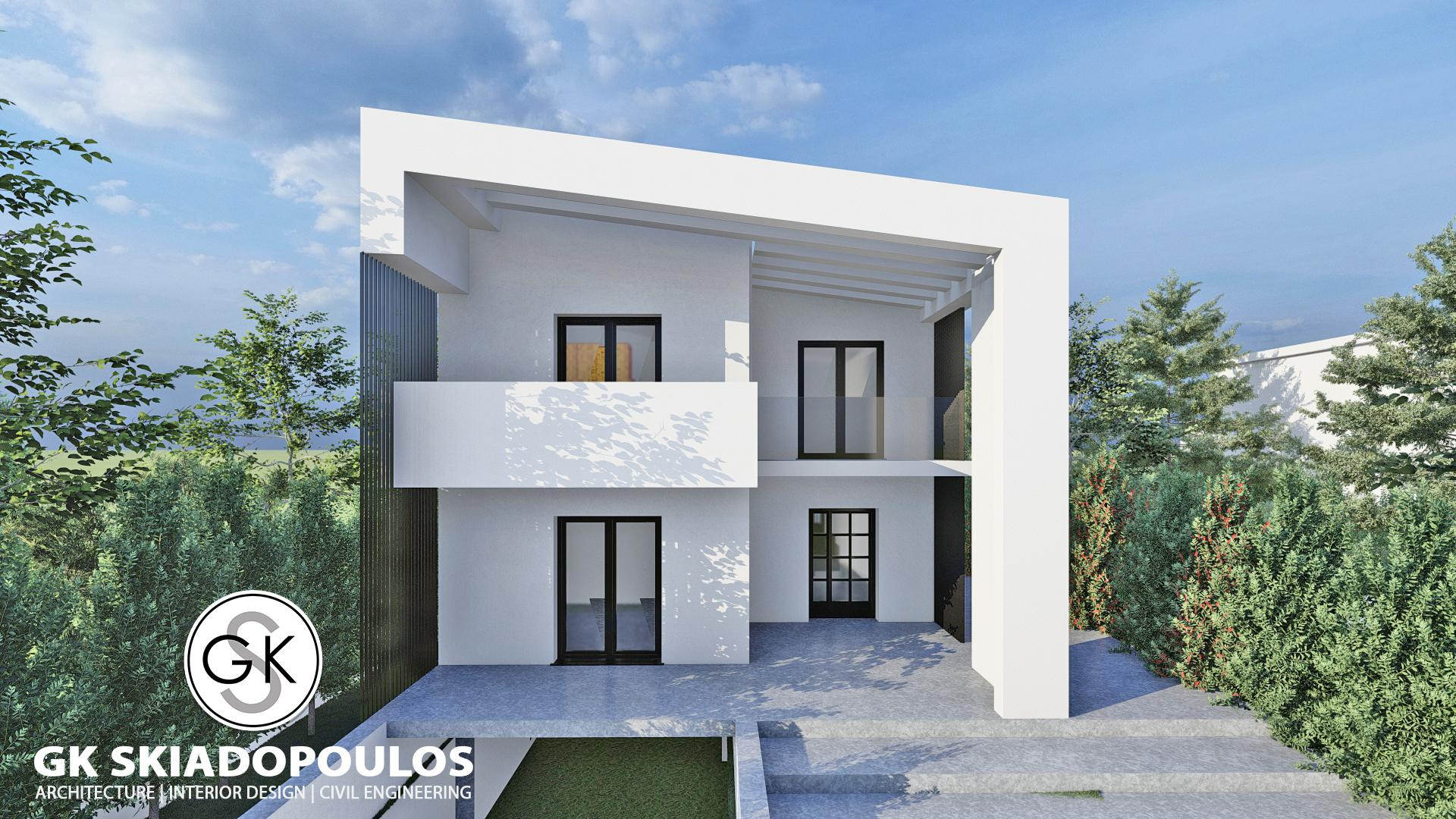 Diagonal Villa In Rhodes Architecture - 1