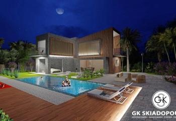Αρχιτεκτονική Μελέτη «Συμμετρικές Εξοχικές Κατοικίες»
