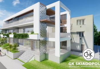New Block in Athens На Острове