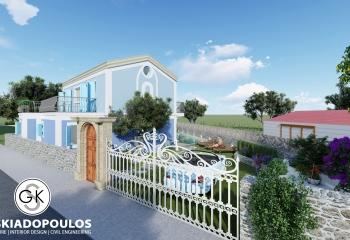 Αρχιτεκτονική Μελέτη «Νεοκλασσικής παραθεριστικής κατοικίας»