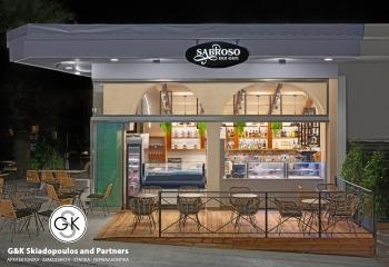 Sabroso Deli Cafe Interior Design